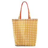 'Rattan' foldable recyclable shopping bag