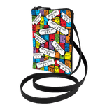 'Street Signs' Crossbody Phone Pouch