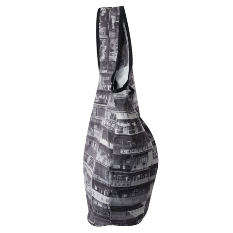 'Yaumati' shopping bag (Black & White)