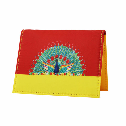 'Peacock' card case