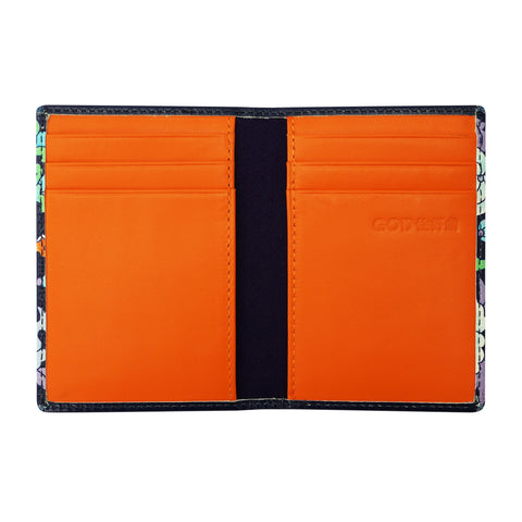 'Forest of Wealth' leather card case