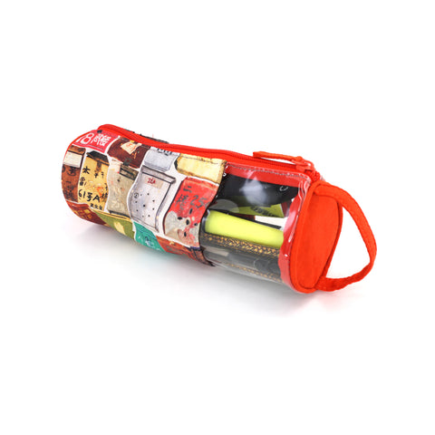 'Letterbox' tube pencil case