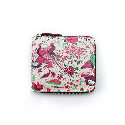 'The Conference of the Birds' zip-around wallet