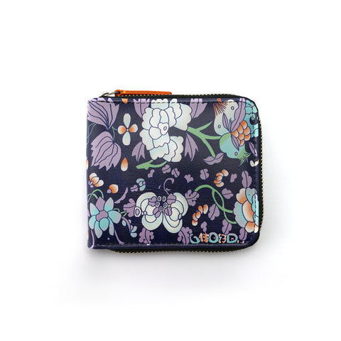 'Floral' zip around wallet | Goods of Desire
