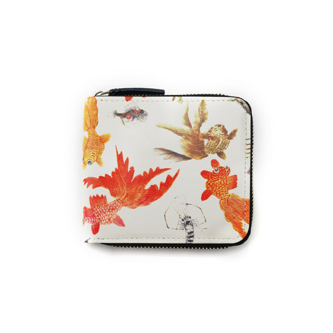 'Goldfish' zip around wallet | Goods of Desire