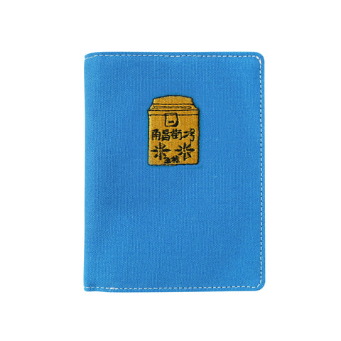 'Letterbox' embroidery passport holder