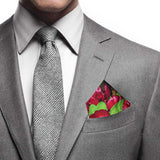 Goods of Desire 'Peony' pocket square