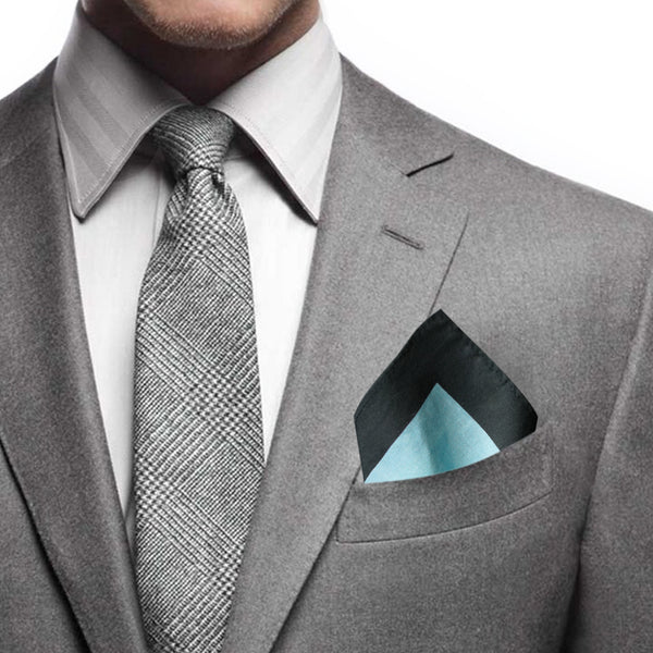 'Robe' cotton pocket square