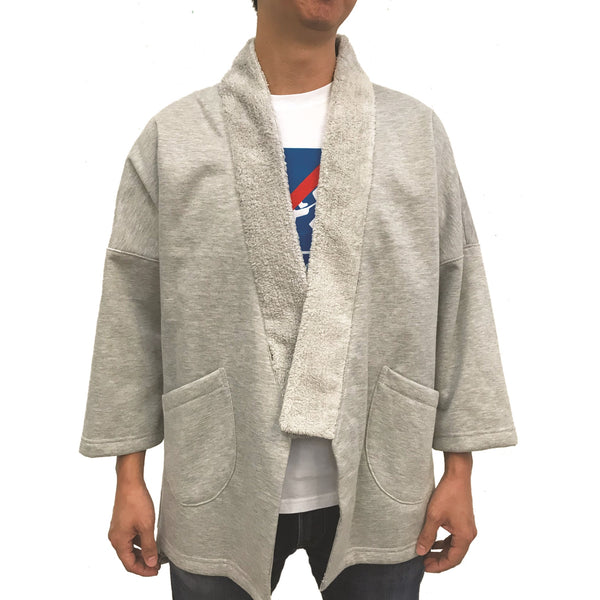 'Ka Lok' Lama Jacket, Light Grey