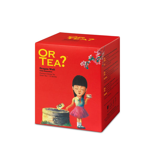 Or Tea? Dragon Well with Osmanthus (sachets)