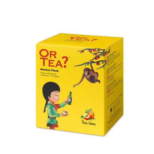 Or Tea? Monkey Pinch | Chinese Oolong Tea Sachets
