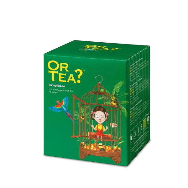 Or Tea? TropiCoco | Organic Fruit Tea Sachets