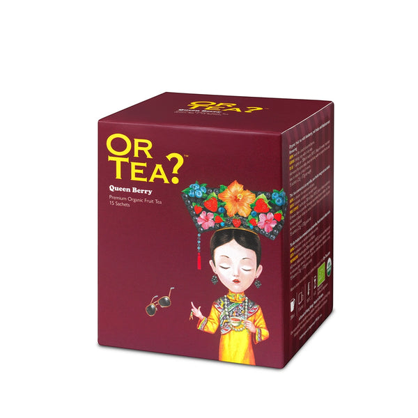 OR TEA? Queen Berry (fruit tea sachets)