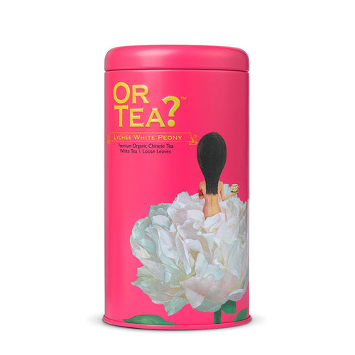 Or Tea? Lychee White Peony  | Organic White Loose Leaf Tea with Lychee Flavouring