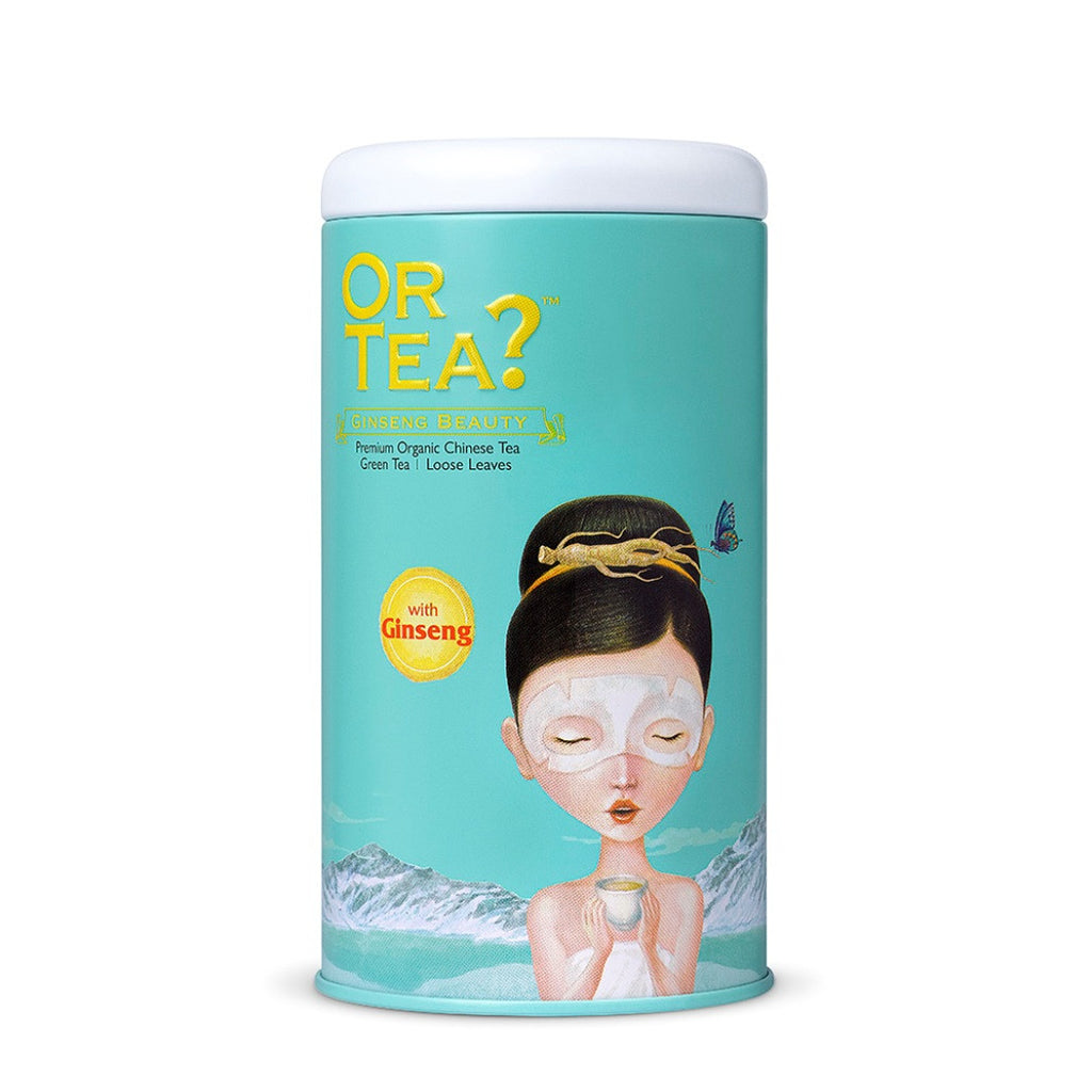 OR TEA C Tin Canister Ginseng Beauty