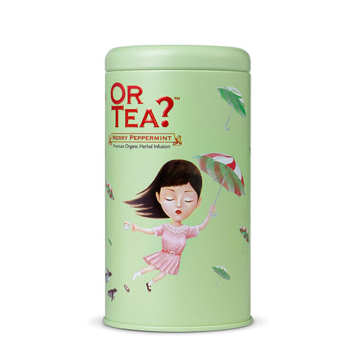 Or Tea? Merry Peppermint | Herbal Peppermint Infusion Loose Leaf Tea