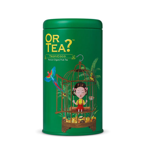 OR TEA C Tin Canister TropiCoco