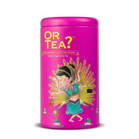 OR TEA C Tin Canister The Secret Life of Chai