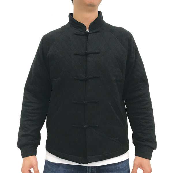 Chinese M Padded Jacket, Black