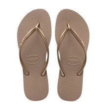 Load image into Gallery viewer, Havaianas Slim Lisa, Rose Gold