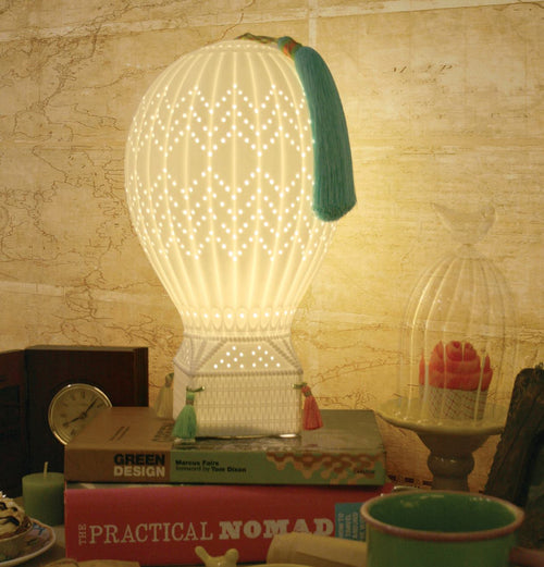 TOPCHOICE Hot Air Balloon Table Lamp