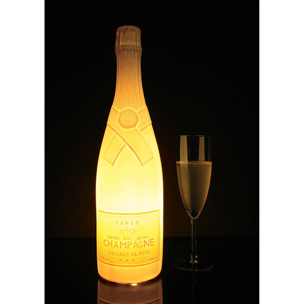 Champagne Bottle Table Lamp