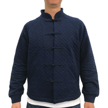 Load image into Gallery viewer, Chinese M Padded Jacket, Navy