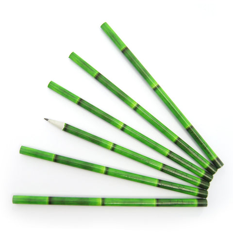 'Bamboo' pencil set