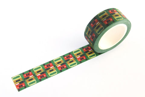 SPRING INNOVATION decorative masking tape (Bus)
