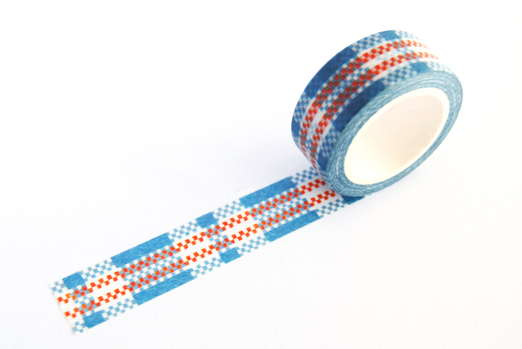 SPRING INNOVATION decorative masking tape (Red White & Blue)