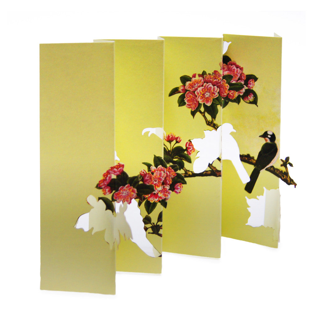 Birds On Plum Blossoms' card
