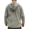 Chinese Marble Wash Hoodie, Light Denim