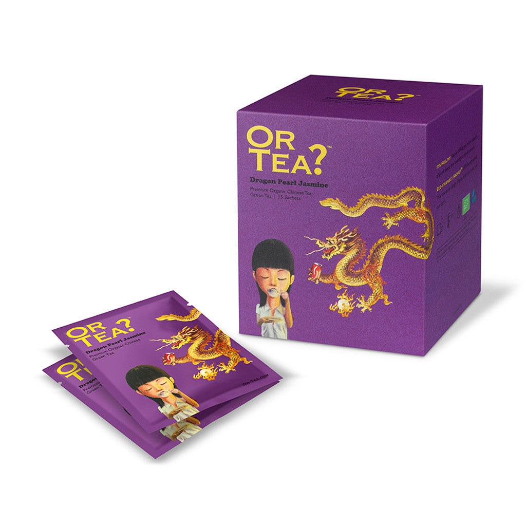 OR TEA Dragon Pearl Jasmine 15-Sachet Pack
