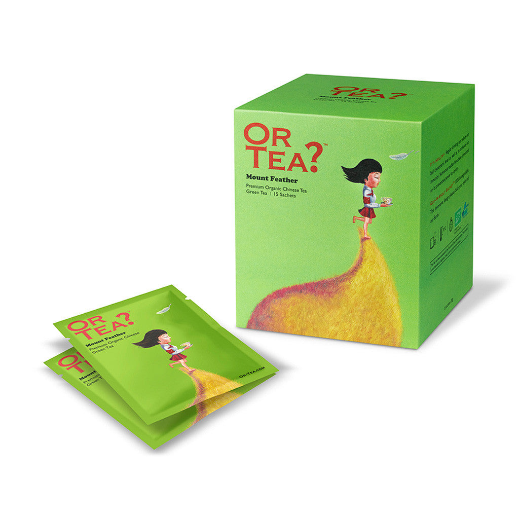 OR TEA Mount Feather 15-Sachet Pack