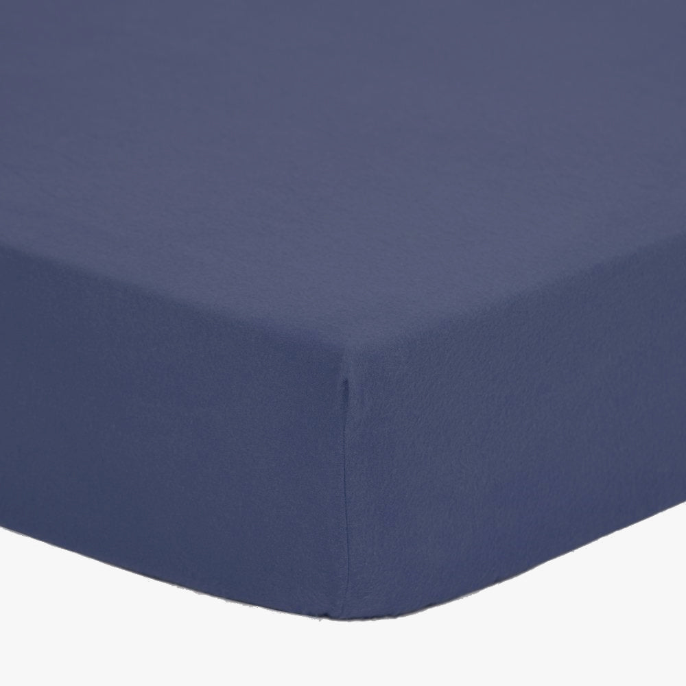 BIG Living Fitted Sheet, Crown Blue