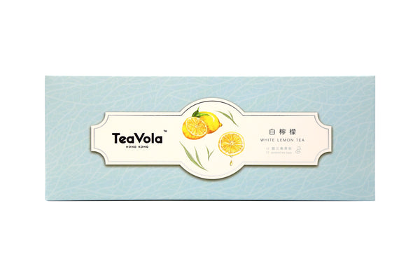 TEAVOLA Lemon White Tea 12-pack set