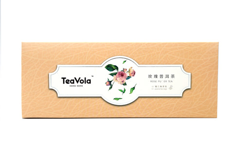 TeaVola Rose Pu'er Tea