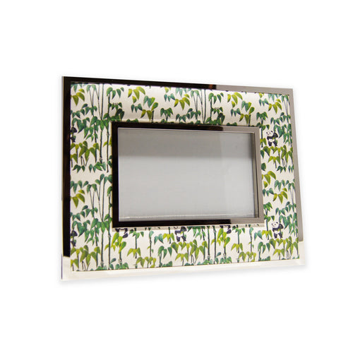 'Panda Bamboo' 4R padded photo frame