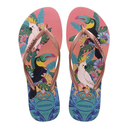 Havaianas Slim Tropical, Silk Rose
