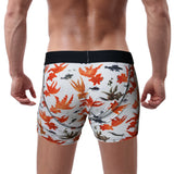 'Goldfish' Boxer Brief, Orange/White