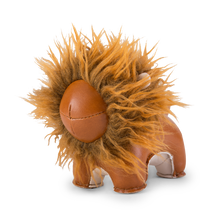 Load image into Gallery viewer, Zuny Paperweight Lion Lino, Tan