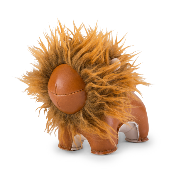 Zuny Paperweight Lion Lino, Tan