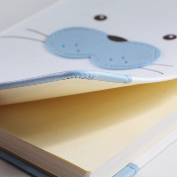 Daycraft Animal Pals lined notebook A6, Baby Seal