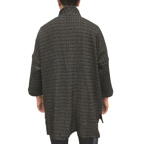 'Ka Lok' Lama Jacket, Black Knit