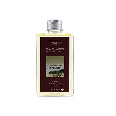 Stone Washed Driftwood 100ml Diffuser Oil Refill by Carroll&Chan