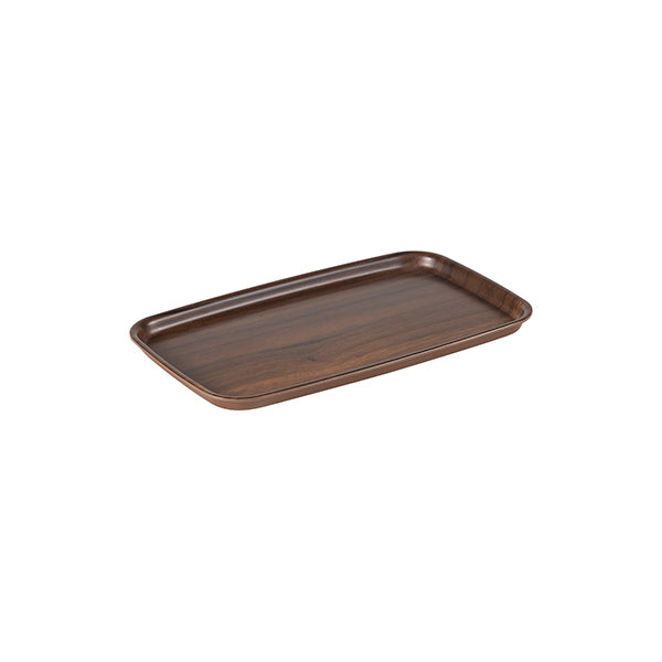 Zicco Bowl & Cover, Brown Wood