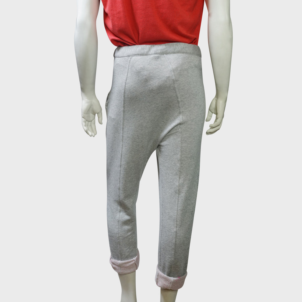 'Pak Foo' roll-up pants (Grey terry)