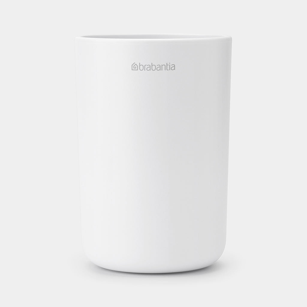 Brabantia ReNew Toothbrush Holder with insert, White