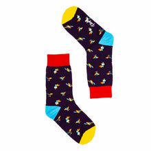 Load image into Gallery viewer, Playful Socks, Parrot