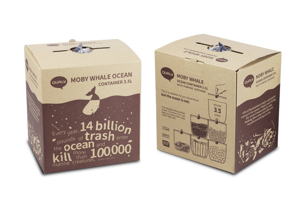 Qualy Moby Whale Ocean Container 3.5L